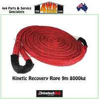 Kinetic Recovery Rope 9m 8000kg
