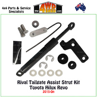 Rival Tailgate Assist Kit Toyota Hilux Revo 2015-On