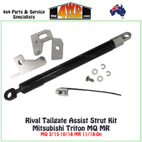 Rival Tailgate Assist Kit Mitsubishi Triton MQ MR