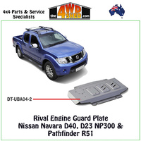 Engine Guard Plate Nissan Navara D40 D23 Pathfinder R51