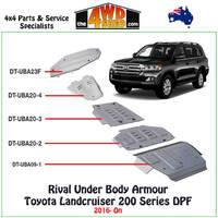 Under Body Armour Rival Toyota Landcruiser 200 Series DPF