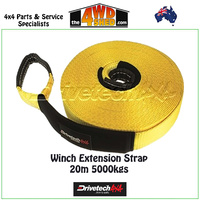 Winch Extension Strap - 20M 5000kgs