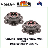 AISIN Free Wheel Hubs Jackaroo Isuzu MU Trooper - Pair