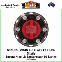 AISIN Free Wheel Hubs Toyota Hilux & Landcruiser 70 Series Single Hub
