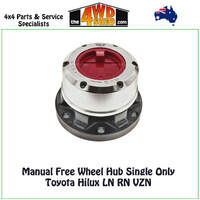 Hulk Free Wheel Hub Single Only - Toyota Landcruiser 1963-1975