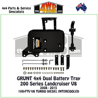 200 Series Landcruiser V8 Diesel - Dual Battery Tray