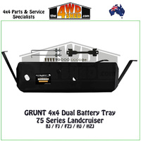 75 Series Landcruiser - Dual Battery Tray