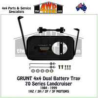 70 Series Landcruiser - Dual Battery Tray