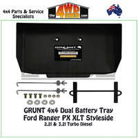 Ford Ranger PX XLT Styleside - Dual Battery Tray