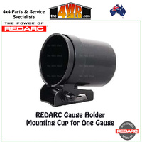 Gauge Holder- Mounting Cup for One Gauge