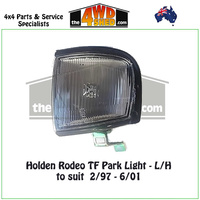 Holden Rodeo TF Front Park Light - L/H