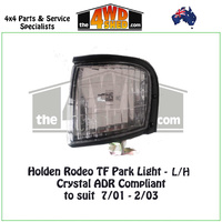 Holden Rodeo TF Front Park Light - L/H CRYSTAL