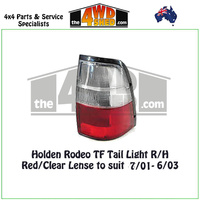 Holden Rodeo TF Tail Light -R/H