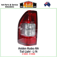 Holden Rodeo RA Tail Light LH