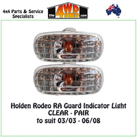 Holden Rodeo RA / Isuzu DMAX Guard Indicator Light - PAIR