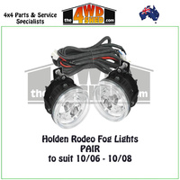 Holden Rodeo/Colorado / Isuzu DMAX Fog Light - Pair