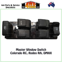 Window Master Switch Control RC Colorado RA Rodeo DMAX