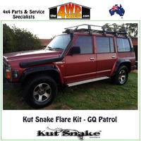 Kut Snake Flare Kit - Nissan GQ Y60 Patrol FULL KIT
