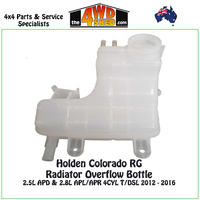 Holden Colorado RG - Radiator Overflow Bottle