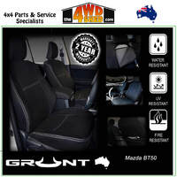 Neoprene Car Seat Cover Mazda BT50 - Front & Rear
