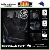 Neoprene Car Seat Cover Isuzu DMAX - Front