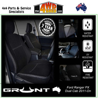 Neoprene Car Seat Cover Ford Ranger PX - Rear