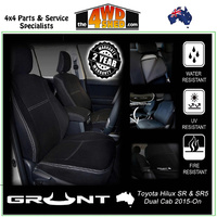 Neoprene Car Seat Cover Toyota Hilux SR & SR5 - Front