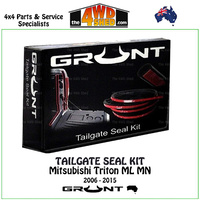 Tailgate Seal Kit - Mitsubishi Triton ML MN 2006 - 2015