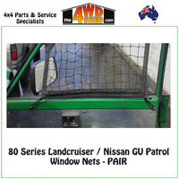 Window Nets (Pair) - Nissan GU Patrol