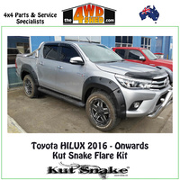Kut Snake Flare Kit - Hilux GUN126 REVO 2016 - Onwards FULL KIT