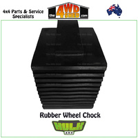 Rubber Wheel Chock - Solid
