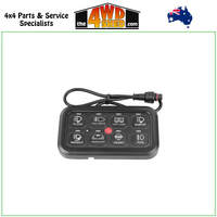 Professional Series Blue Backlit Smart 8 Switch Panel