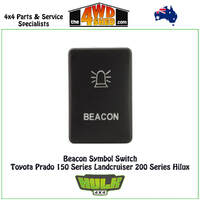 Beacon Switch 12V GREEN Toyota Prado 150 Series Landcruiser 200 Series Hilux GUN