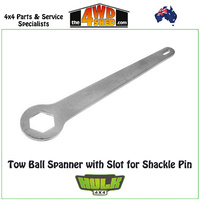 Hulk 4x4 Tow Ball Spanner with Slot for Shackle Pin