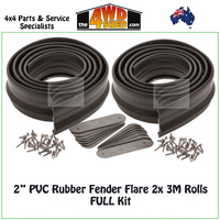 "Fender Flare 2"" 51mm Universal Kit - FULL Kit"