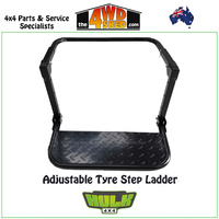 Adjustable Tyre Step Ladder