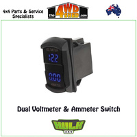 Dual Voltmeter and Ammeter Switch