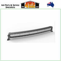 "CURVED DOUBLE ROW LIGHT BAR 31.5"" 180 WATT 60 X 3 WATT CREE LED's COMBINATION BEAM"