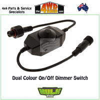 Dual Colour On/Off Dimmer Switch