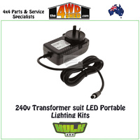 240v Transformer to suit LED Portable Lighting Kits