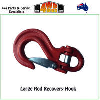 Large Red Recovery Hook