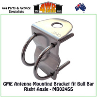 GME Antenna Mounting Bracket fit Bull Bar Right Angle