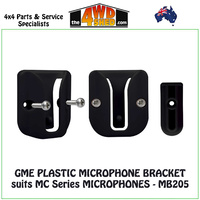 GME PLASTIC MICROPHONE BRACKET suits MC Series MICROPHONES - MB205