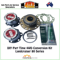 DIY Part Time 4WD Conversion Kit - Landcruiser 80 Series