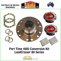 Part Time 4WD Conversion Kit - LandCruiser 80 Series