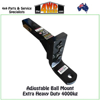 Adjustable Ball Mount Extra Heavy Duty 4000kg