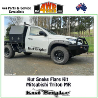 Kut Snake Flare Kit - Mitsubishi Triton MR FULL KIT