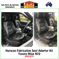 Seat Adapter Kit Toyota Hilux N70 2005-2015