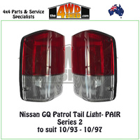 Nissan GQ Patrol Series 2 Tail Lights - PAIR