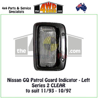 Nissan GQ Patrol Series 2 Guard Indicator - Left CLEAR